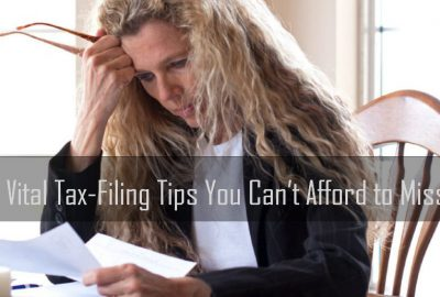 Vital Tax-Filing Tips