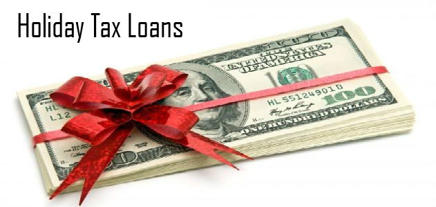 Holiday Tax Loan Online