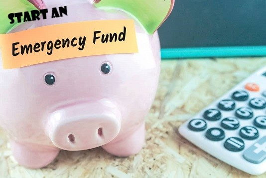 start an emergency fund to help with unexpected financial problems