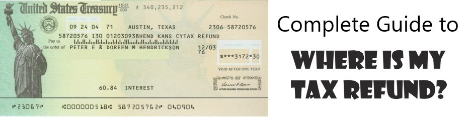 complete guide on where my tax refund is