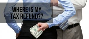 where is my tax refund?
